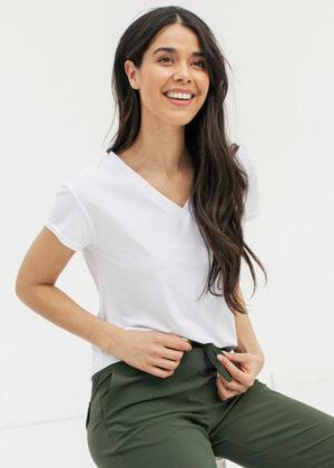 Studio Anneloes Roller shirt 94742 white model side