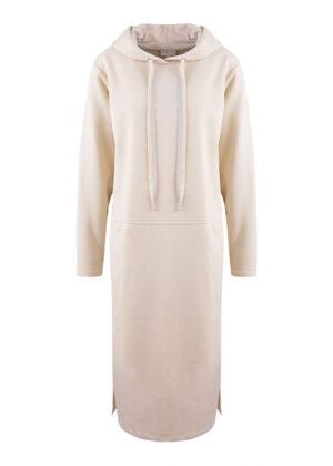Milano Italy 13-5211-8493-5 sweatdress with hood natur packshot