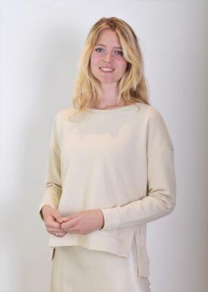 Milano Italy Sweatshirt with oversized shoulders 13-5211-8492-7 side