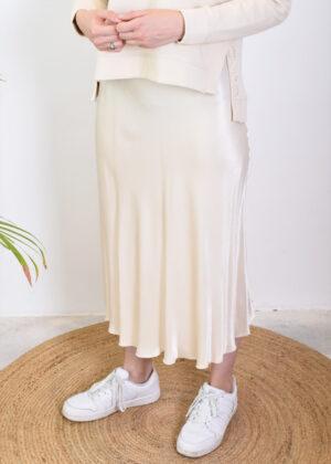 Milano Italy midi skirt 13-6592-1039-5 natur side model