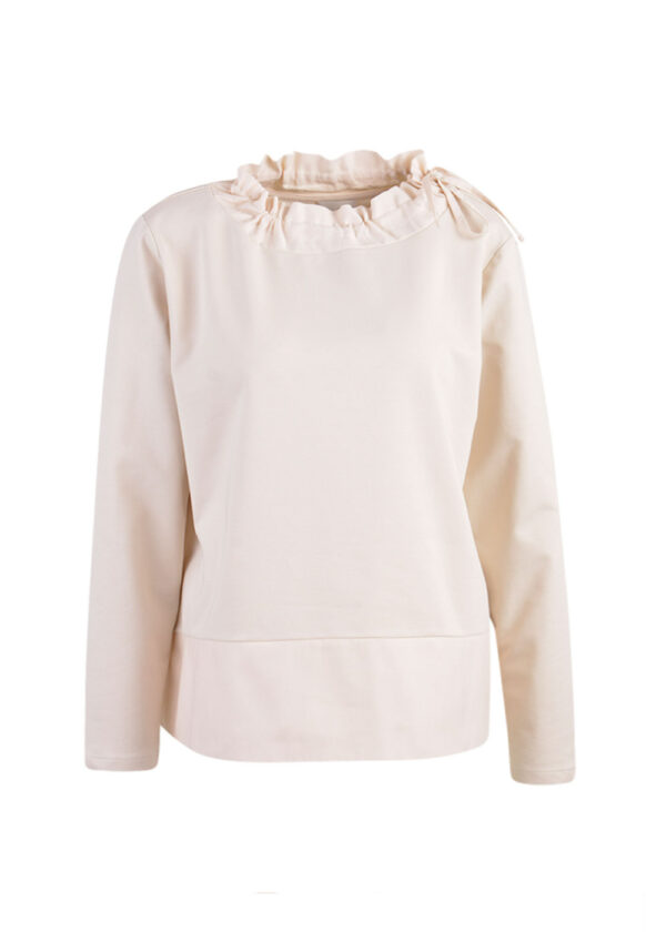 Milano Italy sweatshirt with woven collar and pockets 13-5213-8497-7