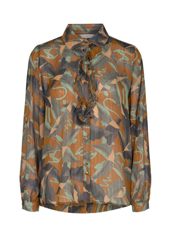 Nümph 700856-5535 Nucalixta shirt cathay spice packshot front