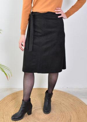 Oars Froulju Tokyo scuba skirt 1L813 black front