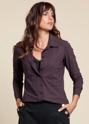 Studio Anneloes 06156-3800 Poppy blouse blackberry front