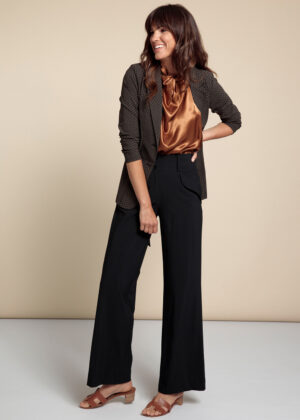Studio Anneloes 06182-9000 Sella trousers black front