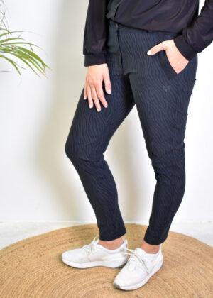 HBT Christina pantalon black Zebra side
