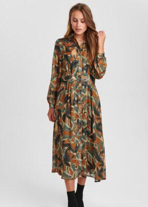 Nümph 700854-5535 Nucalixta dress cathay spice front