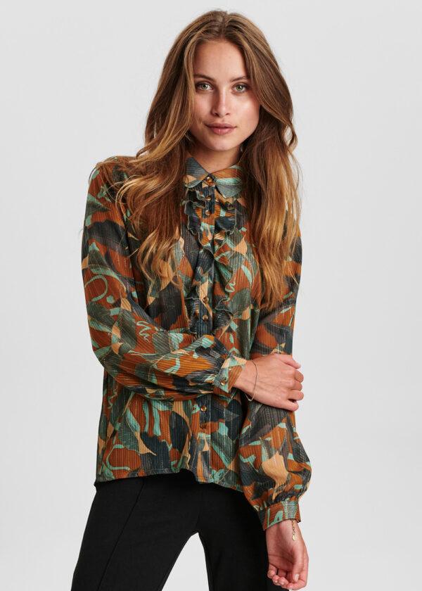 Nümph 700856 Nucalixta shirt cathay spice front