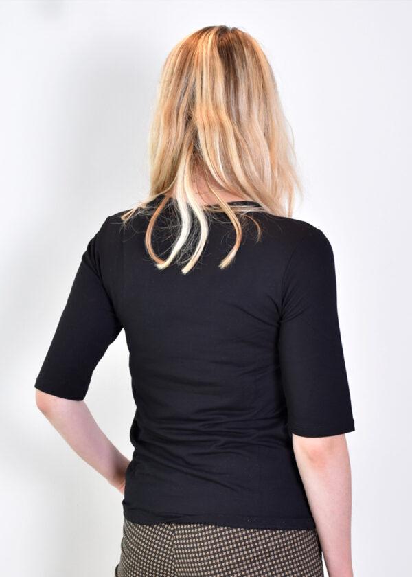 Penn & Ink T-shirt T660 black back