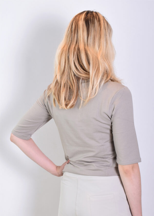 Penn & Ink T-shirt T660 zinc back