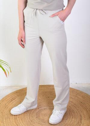 Penn & Ink Trousers W21N1071 sand side
