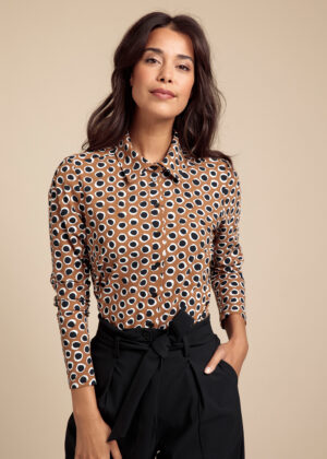 Studio Anneloes Poppy circle shirt 06142-8790-fancy front