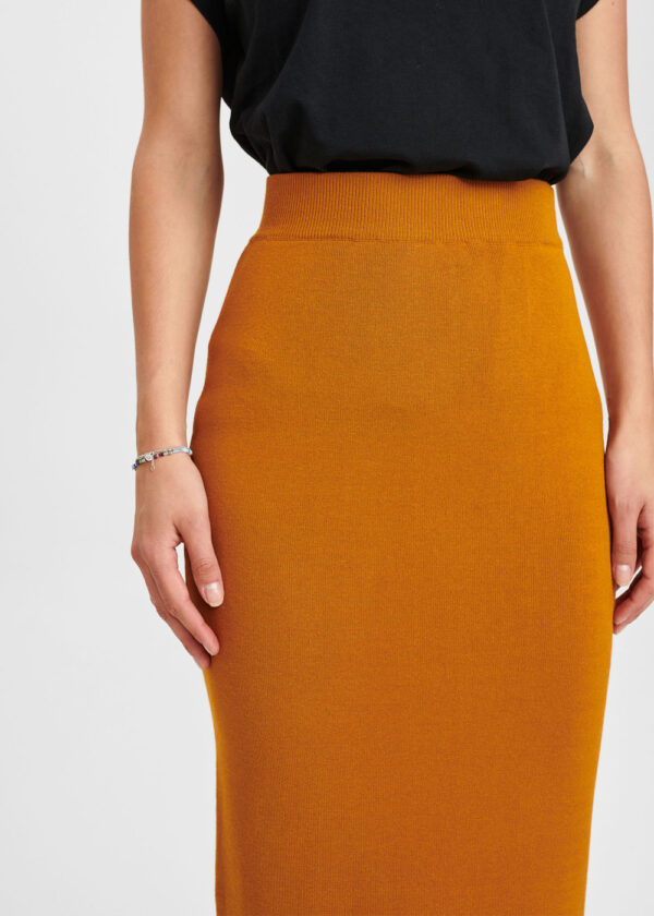 Nümph 701079-5535 Numalone skirt Cathay spice packshot close up