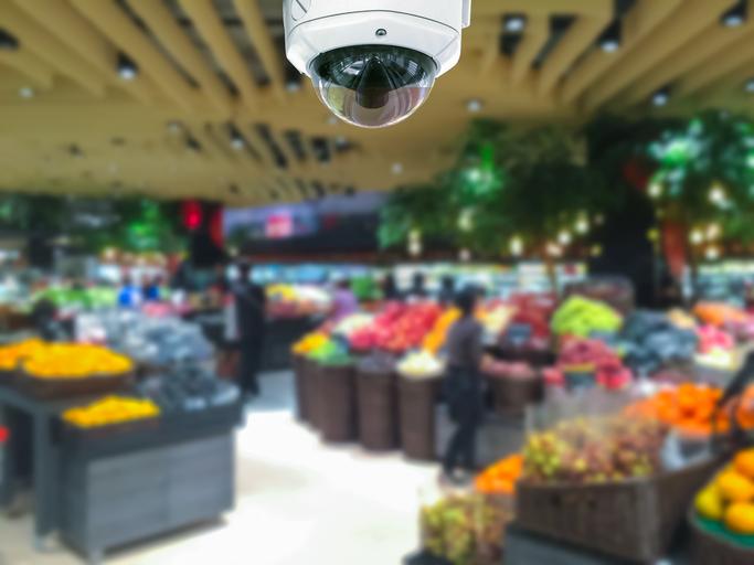 Förebygg snatterier med kameraövervakning i din butik