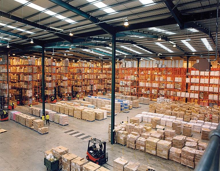 Kameraövervakning och säkerhet för lager, industri, tillverkning, garage, verkstad