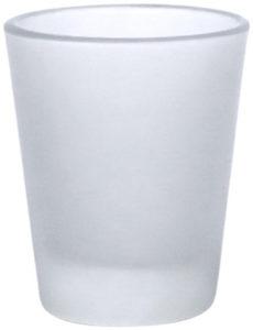 frostat shotglas som trycks med sublimeringsteknik upp till 4färg