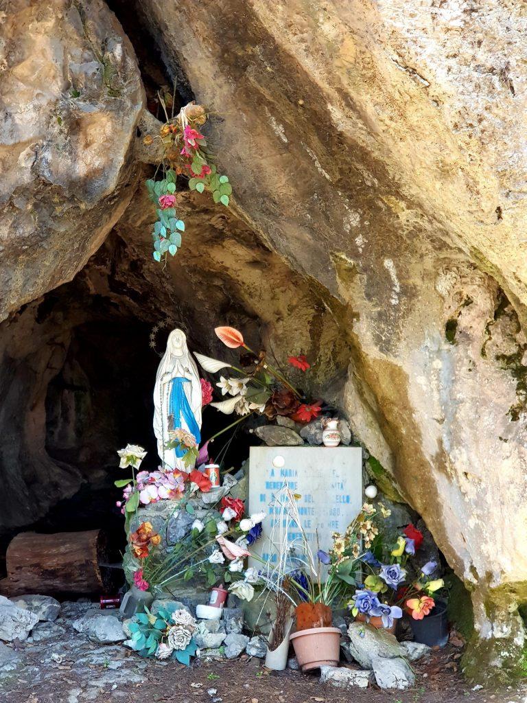 Sorrento vandretur - Den hellige familie nocelle