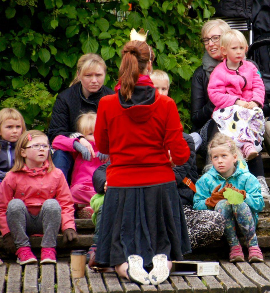 H.C. Andersens fodspor for børn odense børn