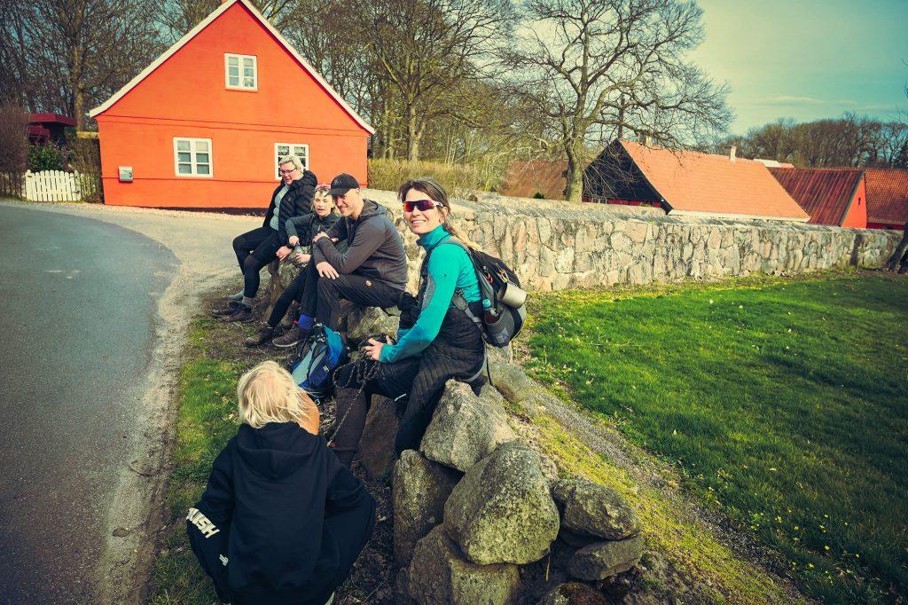 Orø, Jægerspris, Roskilde, langs to fjorde