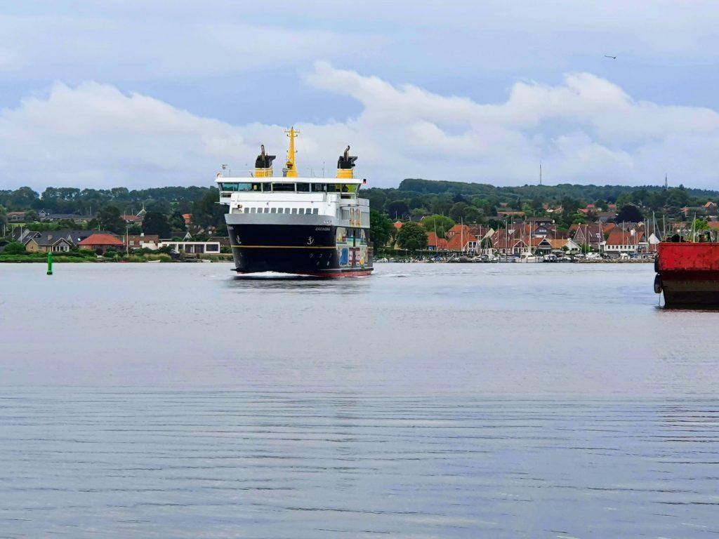 Ærøfærgen kommer til Svendborg