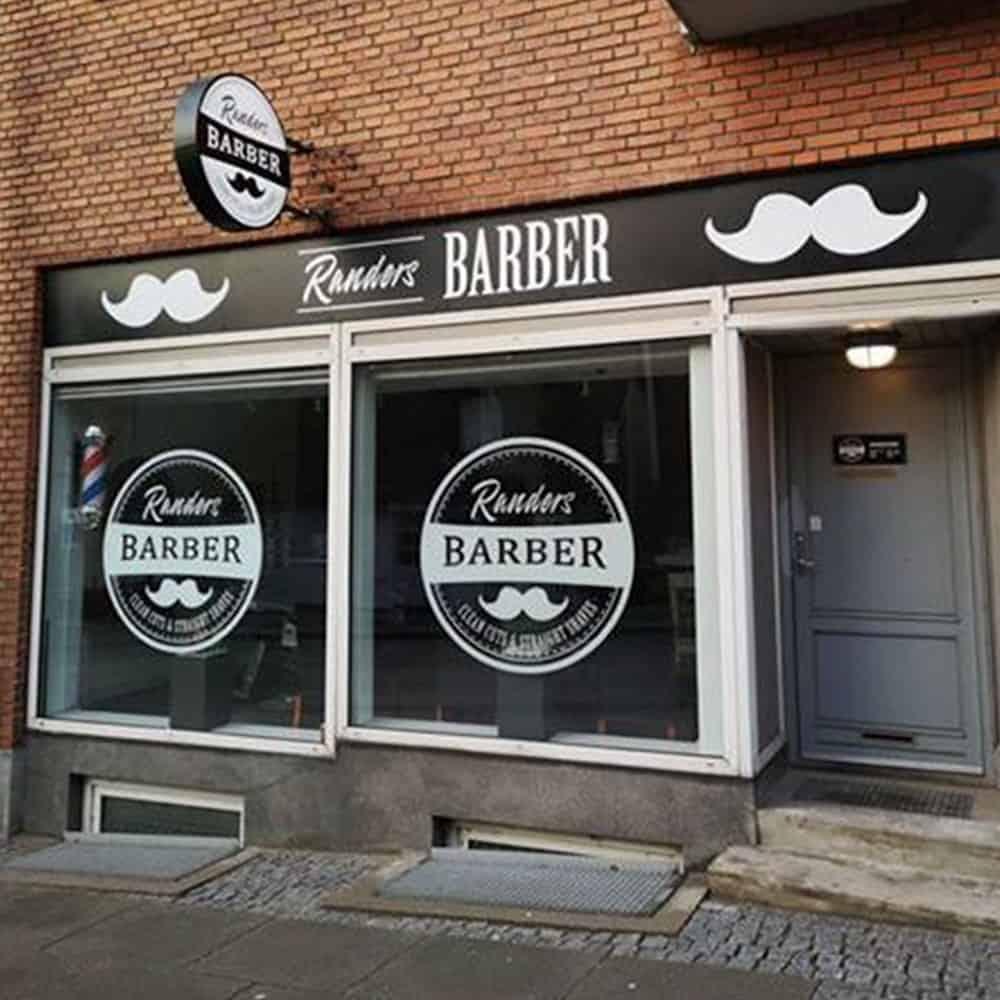 Design af facade til barber