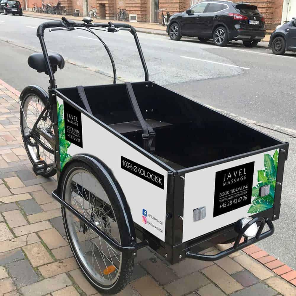 Grafisk design til Javel cykel