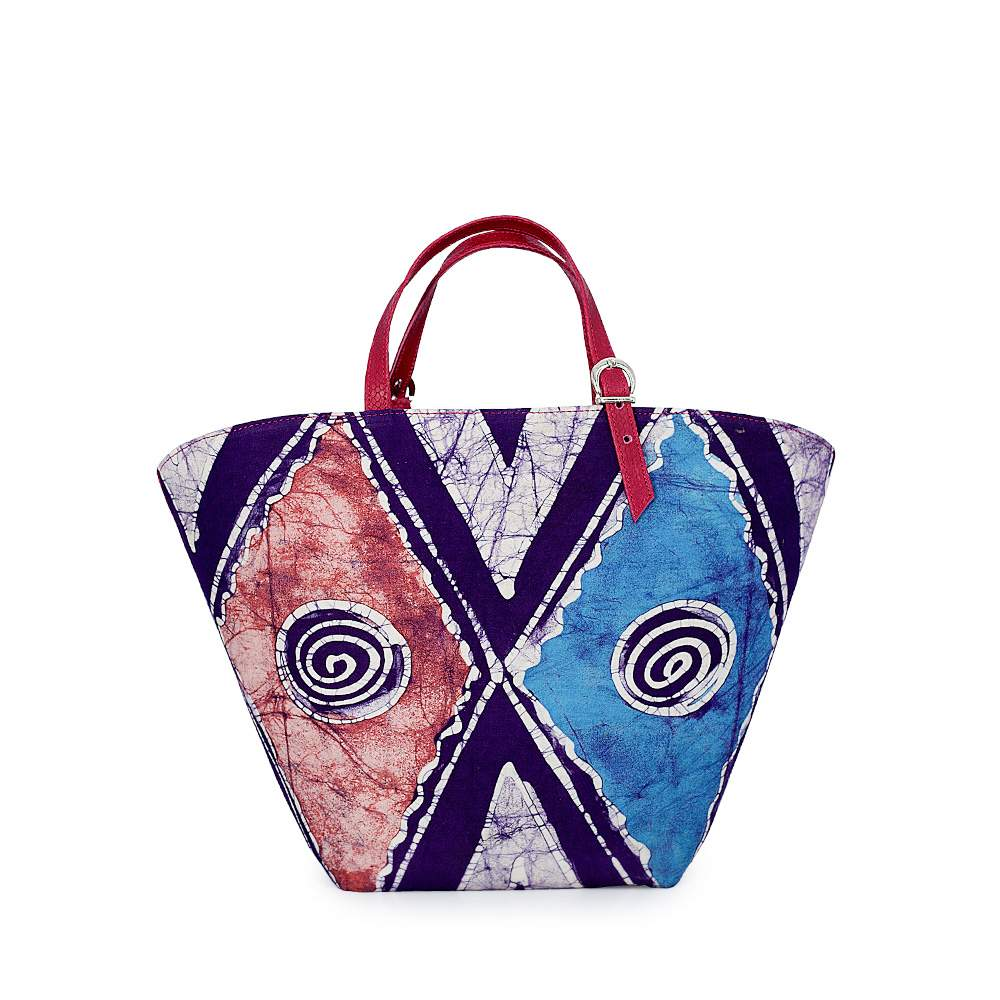 O'Eclat Lilly Tote in Purple