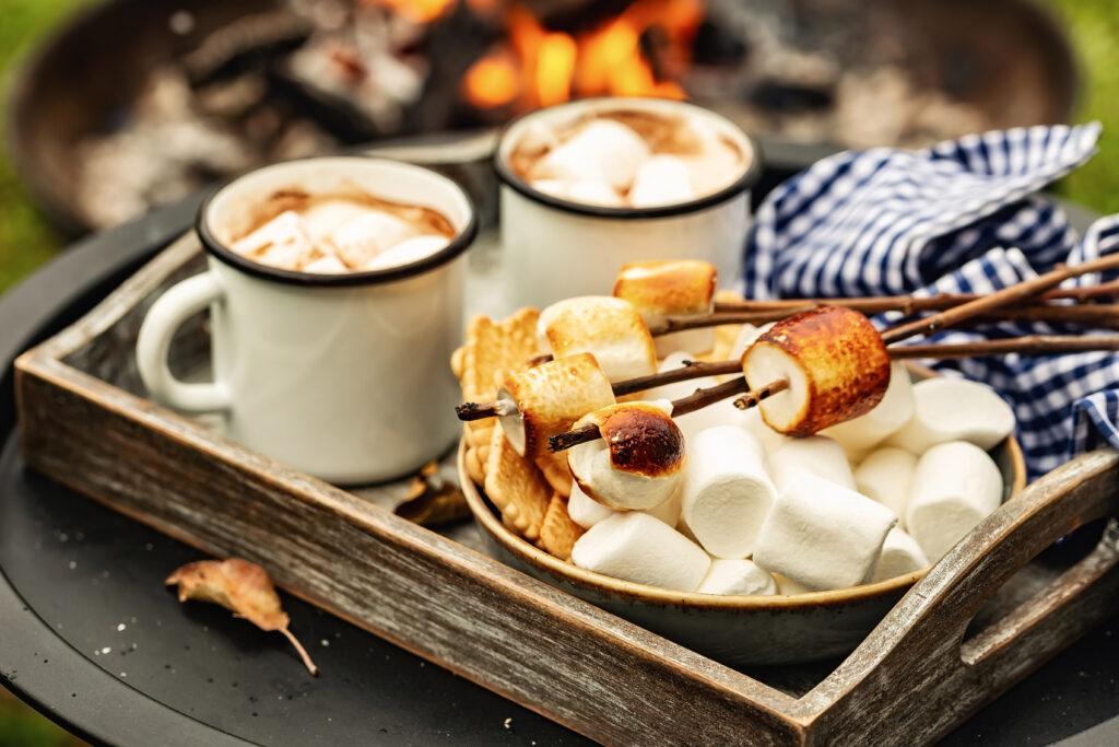 koffie-marshmallow-kampvuur