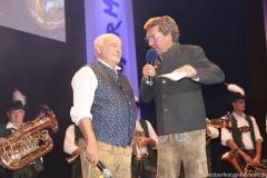 Dr. Axel Munz und Stephan Schneider (re.), Angermaier Trachtennacht in der Alten Kongresshalle in München 2018