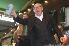 Jürgen Kirner,  Anstich in der Schönheitskönigin auf der Oidn Wiesn am Oktoberfest in München 2018