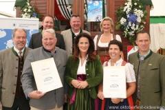 Auszeichnung Bayerische Bierzelte 2018