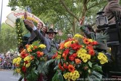 Edi Reinbold, Einzug der Wiesnwirte am Oktoberfest in München 2018