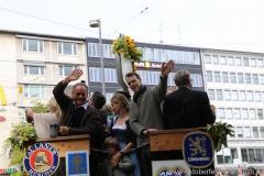Magnus Müller-Richart (re.), Einzug der Wiesnwirte am Oktoberfest in München 2018