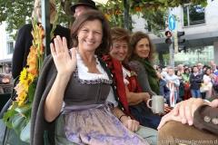 Ilse Aigner, Einzug der Wiesnwirte am Oktoberfest in München 2018
