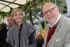Joseph Vilsmaier (re.), Einzug der Wiesnwirte am Oktoberfest in München 2018