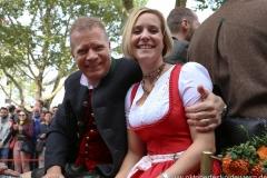 Andreas Steinfatt  (li.), Einzug der Wiesnwirte am Oktoberfest in München 2018