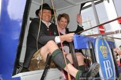 Dr. Michael und Irmgard Möller, Einzug der Wiesnwirte am Oktoberfest in München 2018