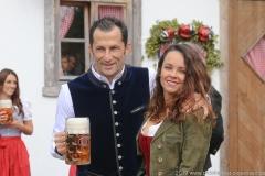"Hasan ""Brazzo"" Salihamidžic, FC Bayern in Käfers Wiesnschenke am Oktoberfest in München 2019"