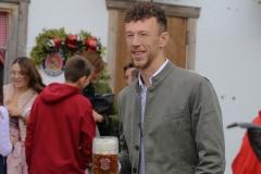 Ivan Perišić, FC Bayern in Käfers Wiesnschenke am Oktoberfest in München 2019