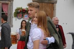 Joshua Kimmich, FC Bayern in Käfers Wiesnschenke am Oktoberfest in München 2019