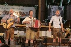 Lochtrio, alentwettbewerb Jetzt sing i für die BR Brettlspitzen im Volkssängerzelt zur Schönheitskönigin auf der Oidn Wiesn in München  am 24,9, 2019