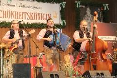 """SMS De Waidlerische Wirtshausmusi, Nachwuchswettbewerb """"Jetzt sing i """" in der Schönheitskönigin auf der Oidn Wiesn am Oktoberfest in München 2018"""