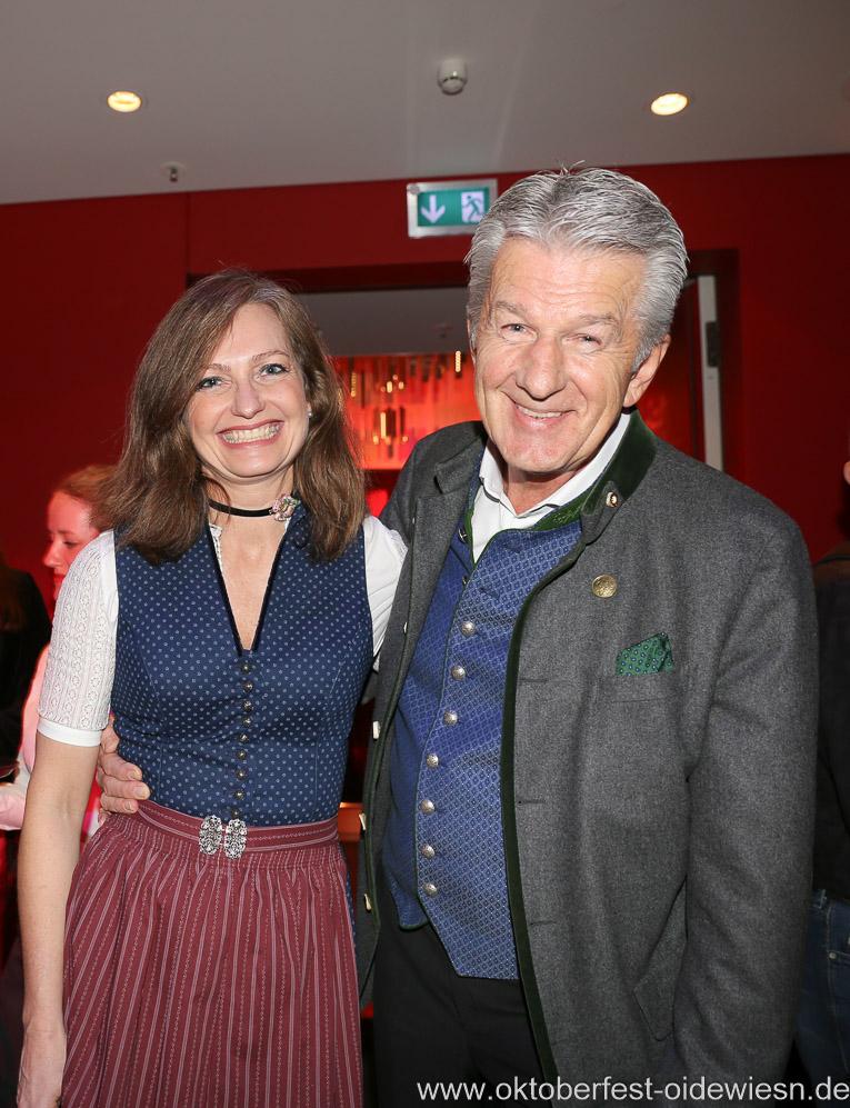 Günter Malescha (re.), Oide Wiesn Bürgerball im Deutschen Theater in München 2019