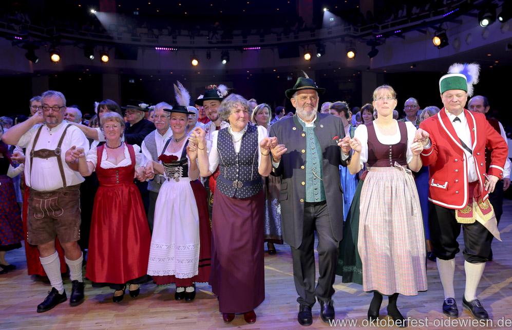 Oide Wiesn Bürgerball im Deutschen Theater in München 2019