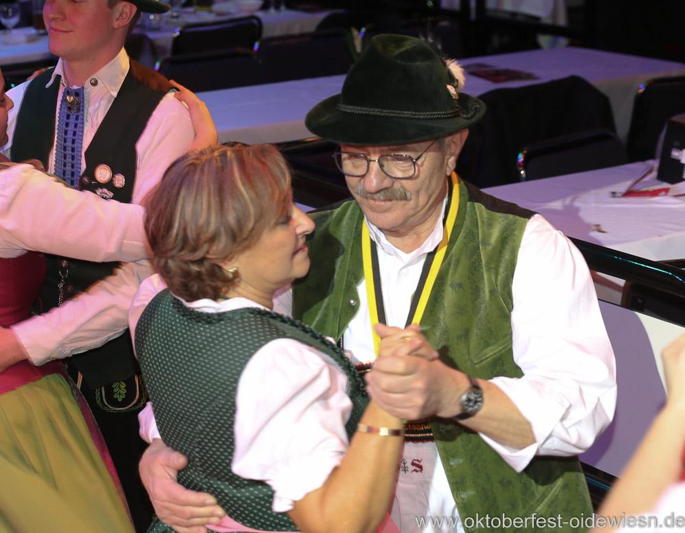Otto  Seidl und Rita Tyrock, Oide Wiesn Bürgerball im Deutschen Theater in München 2019