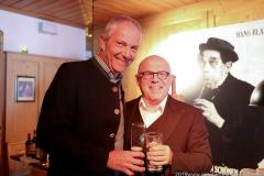 Dr. Michael Möller und Jürgen Kirner (re.), PK Schönheitskönigin im Seehof in Herrsching 2019