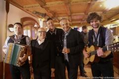 Bernhard Gruber, Jürgen Kirner, Peter Reichert, Dr. Michael Möller, Berni Filser (von li. nach re.), PK Schönheitskönigin im Seehof in Herrsching 2019
