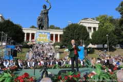 Michael Harles, Wiesn Platzkonzert mit allen Wiesnkapellen unter der Bavaria am Oktoberfest in München 2018