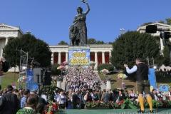 Josef Schmid, Wiesn Platzkonzert mit allen Wiesnkapellen unter der Bavaria am Oktoberfest in München 2018