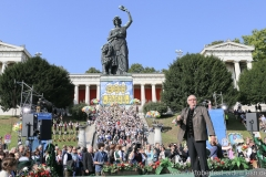 Toni Roiderer, Wiesn Platzkonzert mit allen Wiesnkapellen unter der Bavaria am Oktoberfest in München 2018